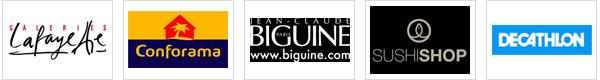 Houra - Bricorama - Autour de bébé - Planet Sushi - Décathlon - Cosderma